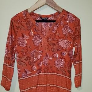 LUCKY BRAND Womens/Junior's XS Vintage Style Top